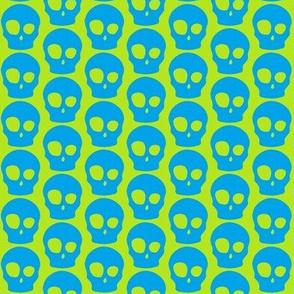Vibrant skulls