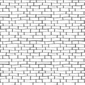 Black and White Brick Road