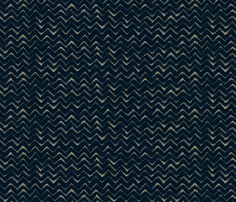 Bleach and ink zig zag fabric by crumpetsandcrabsticks on Spoonflower - custom fabric
