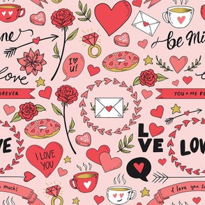 Lovey Dovey Doodles