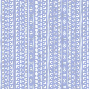 Ditsy Tribal Drum Stripe Lavender