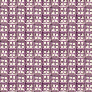 quad window in grape
