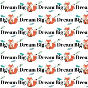 dream big typography