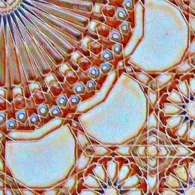 Moroccan Tile Mandala-ed