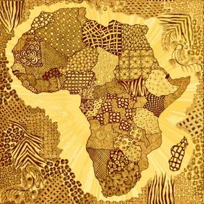 "Africa 18""x18"""