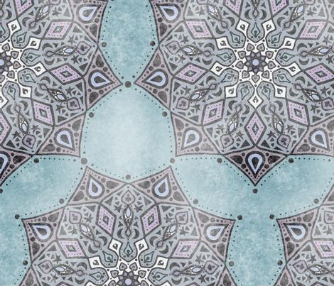 Mystic Mandala fabric by erinkristin on Spoonflower - custom fabric