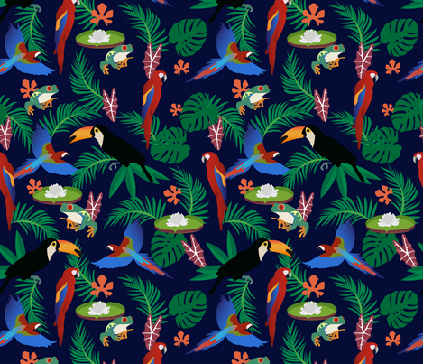 Amazonia fabric by beatrizmioto on Spoonflower - custom fabric