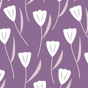 Tulips Purple (Spring)