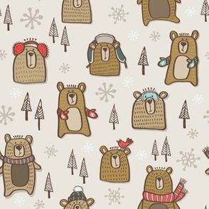 Winter Bears Light