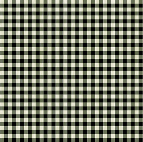 Black_White_Gingham_Texture fabric by kelly_a on Spoonflower - custom fabric