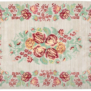 Camelia grey rug