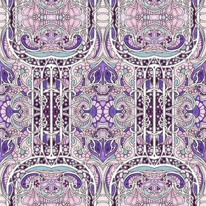 Lost in the Psychedelic Haze (purple/lavender)