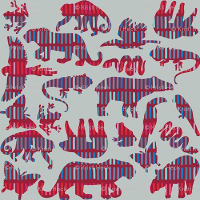 rainforest animals [with mola]
