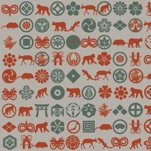japanese rainforest animals