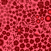 Red Ditsy Floral 2