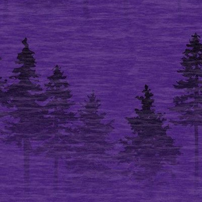 Forest Mist - dark purple