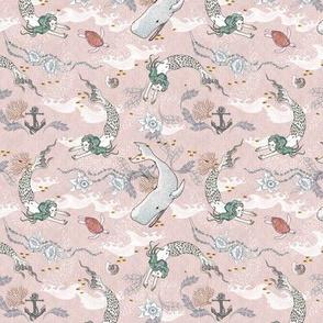 Oceana Mermaids (MICRO) pink