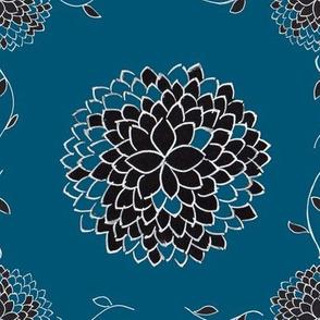 Indigo Floral Creeper