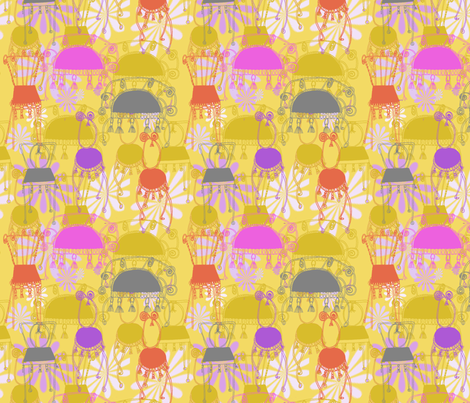 chairs and tassels fabric by weejock on Spoonflower - custom fabric