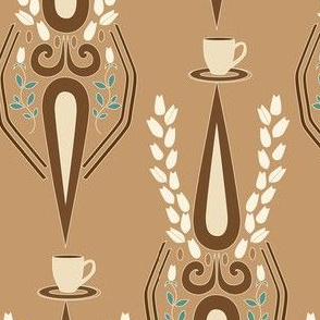 Latte on light tan_Miss Chiff Designs