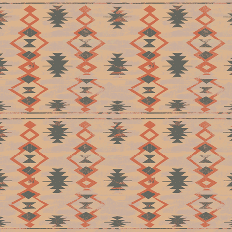 desert rug sand fabric by susiprint on Spoonflower - custom fabric
