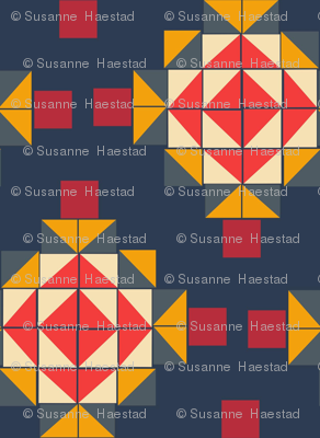 Quilt and blocks