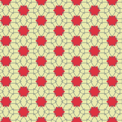 Arrows on red dots