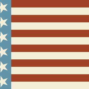 Vintage Flag - Stars and Stripe