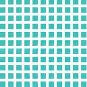 Aqua and White Squares Medium