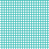 White and Aqua Squares Small