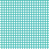White and Aqua Squares Small