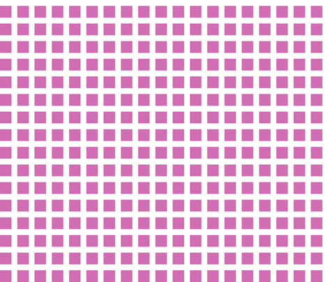 Berry and White Squares Large fabric by joanandrose on Spoonflower - custom fabric