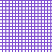 White and Purple Squares Large