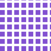Purple and White Squares Large