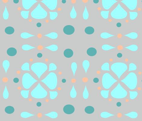 Blume_blu2 fabric by stellabypetra on Spoonflower - custom fabric