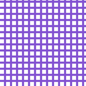 White and Purple Squares Medium