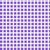 Purple and White Squares Medium