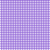 White and Purple Squares Small