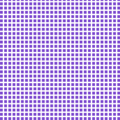 Purple and White Squares Small