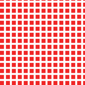 Red and White Squares Medium