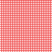 White and Red Squares Small