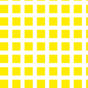 Yellow and White Squares Large