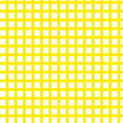 White and Yellow Squares Medium