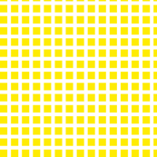 Yellow and White Squares Medium