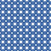 blue geo circles