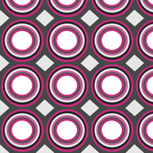 grey pink geo