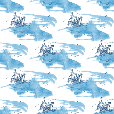 Heavy sea fabric by tanistaja on Spoonflower - custom fabric