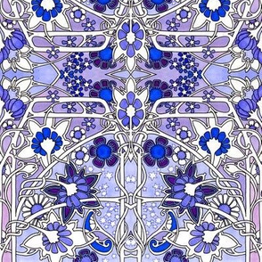 Cosmic Art Nouveau Blues