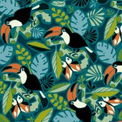 Rtoucan_tropics_3_drk_teal_flat_rvsd_scale_after_competition_400__shop_thumb