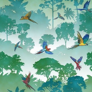 Macaw Canopy // Small